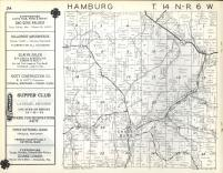 Hamburg T14N-R6W, Vernon County 1960